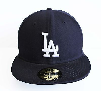 New Era Cap 59FIFTY LA DODGERS Game Home Navy All Sizes MLB New Era Fitted NWT