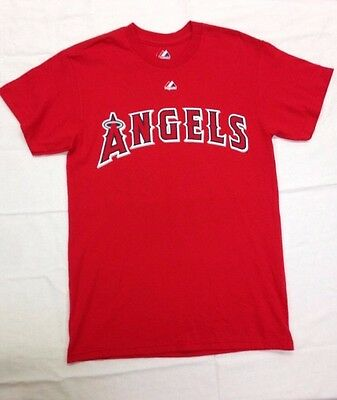 MLB Los Angeles Angels Men's Wilson 33, Name And Number Tee, Athletic Red