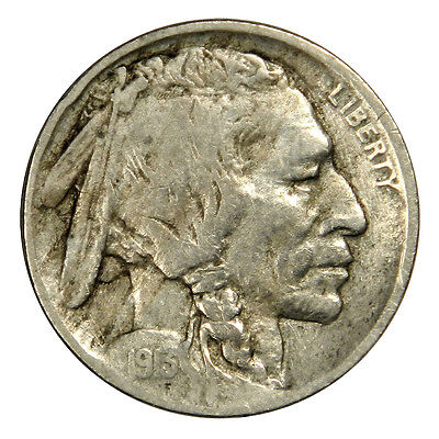 1913-D Buffalo Nickel Type 2 -  Nice Bold Vf/xf Priced Right!