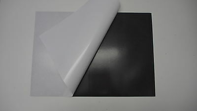 10 x A3 Flexible Magnetic Self adhesive Sheets 445x315x0.4mm