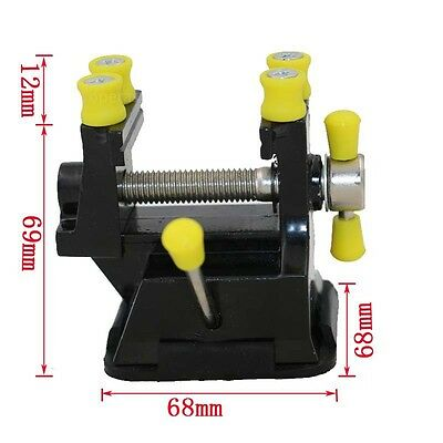 Mini Aluminium Alloy Engraving Table Bench Vise Clamp With Suction Cup Tool