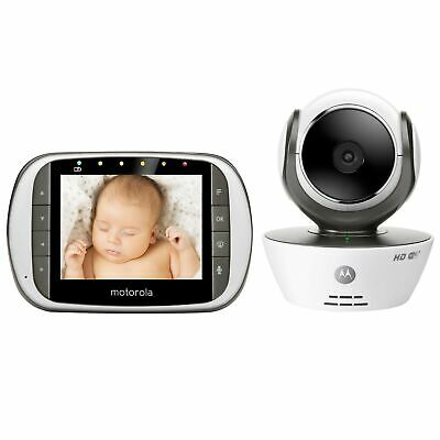 Motorola MBP853CONNECT Digital Video Baby Monitor with Wi-Fi Internet Viewing an