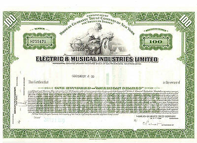 EMI Electric & Musical Industries Limited 1970