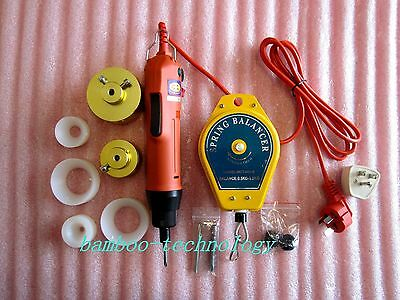 110V Manual Electric Capping Screw Capper Hand-held bottle Capping Machine u