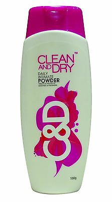 Clean and Dry Daily Intimate Powder 100Gm ( Expiry:- June/2019)