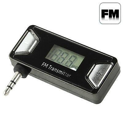 ELETTRONICA 3.5mm Jack FM Transmitter, For iPhone, Galaxy, Huawei, Xiaomi, LG,