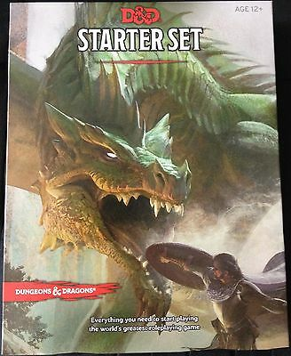 D&D Next 5th Edition STARTER SET Scatola Base Dungeons & Dragons 2014 New