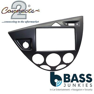 Ford Focus MK1 LHD 1999-2005 Car Stereo Double Din Fascia Grey Panel CT23FD35L