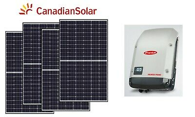 5000W 5kW Grid Tied Solar Kit panel inverter panneau solaire Net Metering