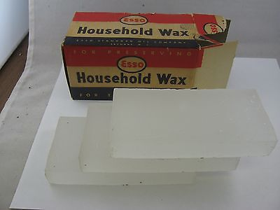 ESSO Standard Oil Company Household Wax For Preserving & Laundry