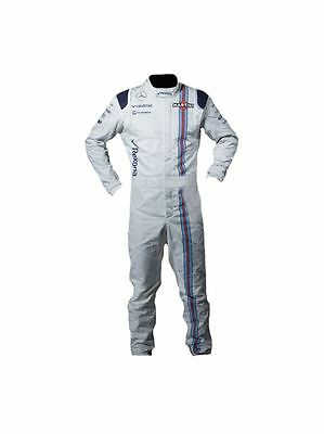 Martini Go kart race suit CIK/FIA Level 2 approved 2015 style