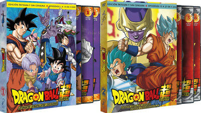 Dragon Ball Super Box 1 Y 2 Dvd La Batalla Dioses Resurreccion F ( Sin Abrir )