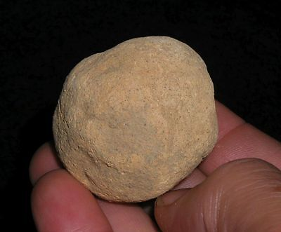 Poverty Point Archaic Pottery Cooking Ball Indian Artifact Louisana