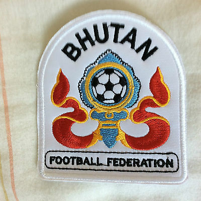 Patch Badge Bhutan Football Federation - Asia - Tibet