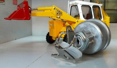 Lucas Type 128sa 33820 Diesel Ignition Switch & Keys JCB 3 3C 3CX Loader 805B