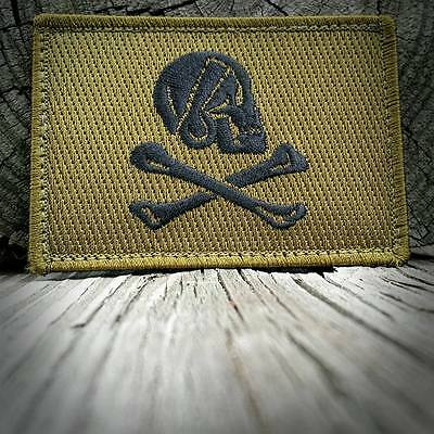 Henry Every Jolly Roger Morale Patch Patriot Militia OD Version Olive Drab
