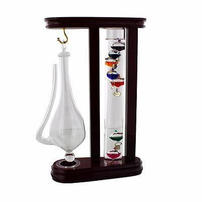 Galileo thermometer and Storm Glass Weather Station G150