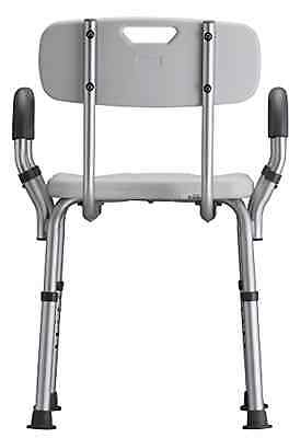 Durable Medical Products Deluxe Bath Seat with Back & Arms Lightweight Mobility