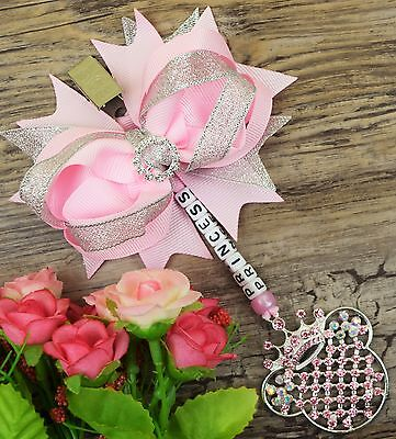 Personalised stunning pram charm in baby pink baby girls boys