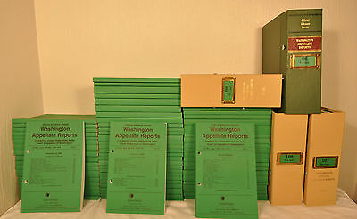 Large Lot of 120+ Washington Appellate Reports 1999 to 2004 Washington Law Books