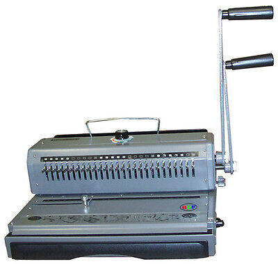 New Wire Binder Combo Punching Binding Closer 2:1 Pitch Wire-O