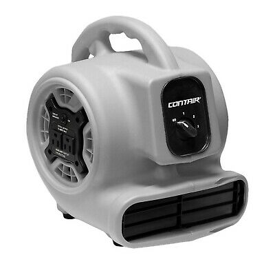 Contair FLO800GY Flow High Velocity Powerful Air Mover Carpet Dryer Floor Kitche