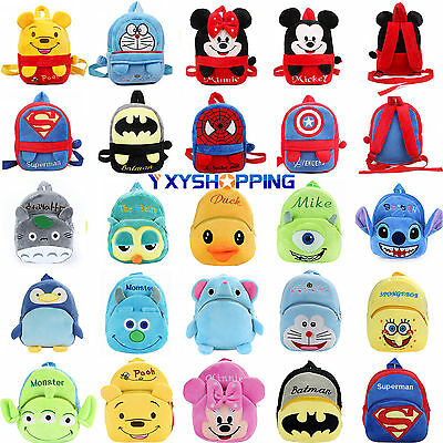 Boys Girls Childrens Marvel Disney Ruchsack Schoolbag Kids School Bag Backpack