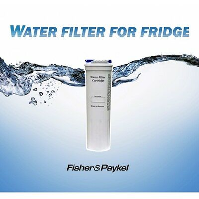 2 x  GENUINE FISHER & PAYKEL FRIDGE WATER  FILTER  836848