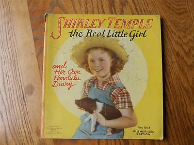 Shirley Temple The Real Little Girl And Her Own Honolulu Diary Book Vintage 1938