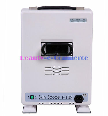 Portable UV Skin Analyze Box Skin Problem Examine 365nm Light 8 Times Magnify