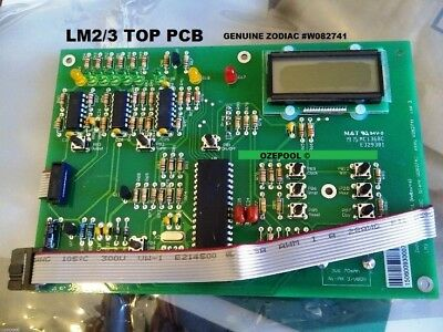 LM2/3 ZODIAC PCB TOP DISPLAY WITH LATEST CLOCK and new larger battery ,100%