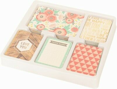 COTTAGE LIVING Edition - 56 Cards - Becky Higgins Project Life Partial Core Kit
