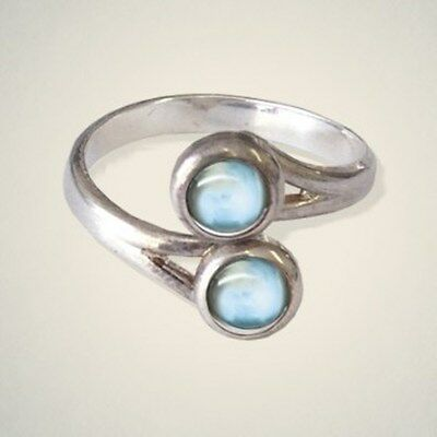 March (Aquamarine) Birthstone Pewter Ring By Art Pewter - Made in Scotland