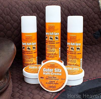 Horse Fitform Sit Tite Cream & Spray for Extra Grip & Security in the Saddle