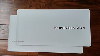 "24""x12"" Blank Car Magnet Sign 30 mil (2 SHEETS)."