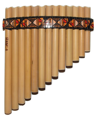 Professional Panflute 15 Pipes Tunable From Peru Case Included Item In Usa