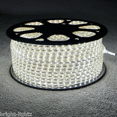Cool White LED Strip 220V 240V IP68 Waterproof 3528 SMD Commercial Lights Rope