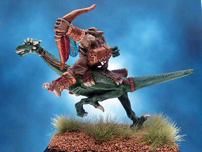 Painted Ral Partha Crucible Orc Sky Striker