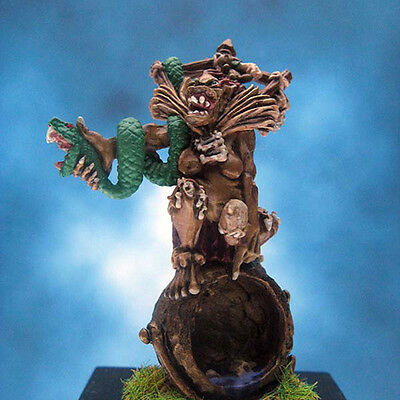 Painted Reaper Miniature Ghoul Witch on Cauldron