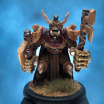 Painted Ral Partha MageKnight Troll Chieftan Miniature