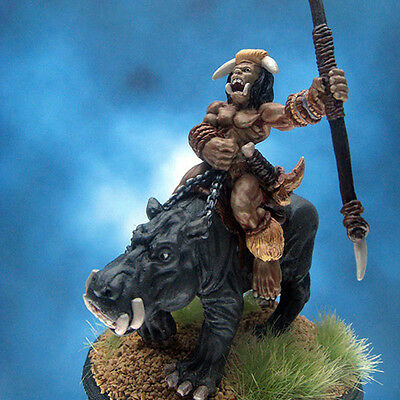 Painted Ral Partha Miniature Orc River Behemoth