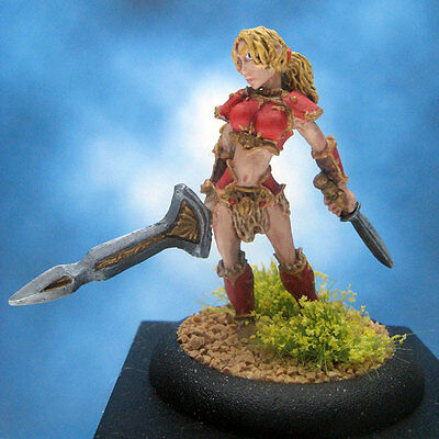 Painted Reaper Miniature Marda of the Blade
