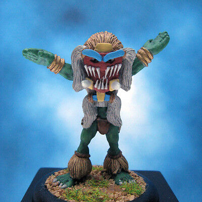 Painted Ral Partha Miniature Orc Plains Shaman