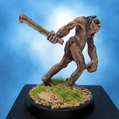 Painted Classic Miniature Ral Partha Hillman with Club