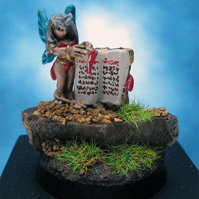 Painted Reaper Miniature Fairy with Book