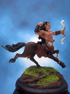 Painted Chainmail Miniature Centaur Archer