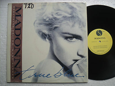 "Madonna - True Blue - Ultra rare HONG KONG SAMPLE - 12"" MAXI"