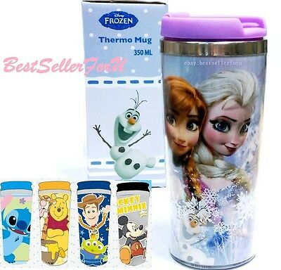 Leak-proof Disney Insulated Thermos Stainless Steel Travel Mug Tumbler Cup Kids
