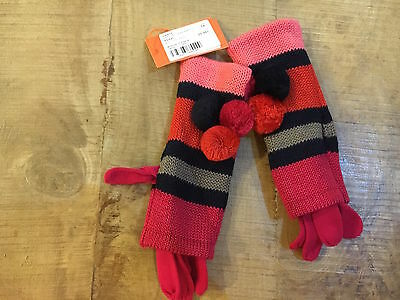 paire de gants fille MARESE wild blueberry taille 4 5/6 ans neuf