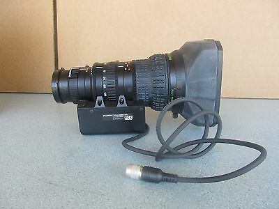 FUJINON S 20X6.4 BMD-D18 TV ZOOM  LENS 1:1.4 / 6.4 - 128mm  FOR JVC PANASONIC